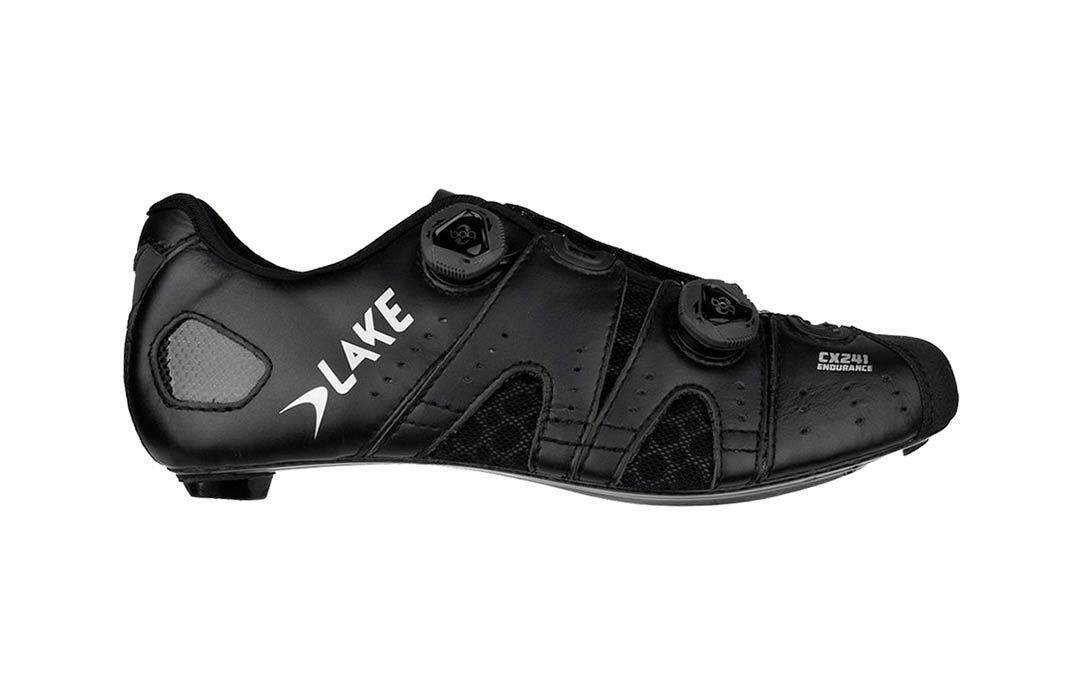 Lake CX241 Road cycling shoe lateral view